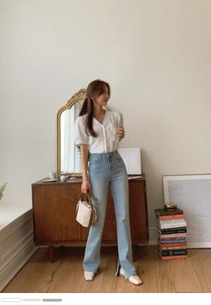 Innocent fruit V-Neck blouse