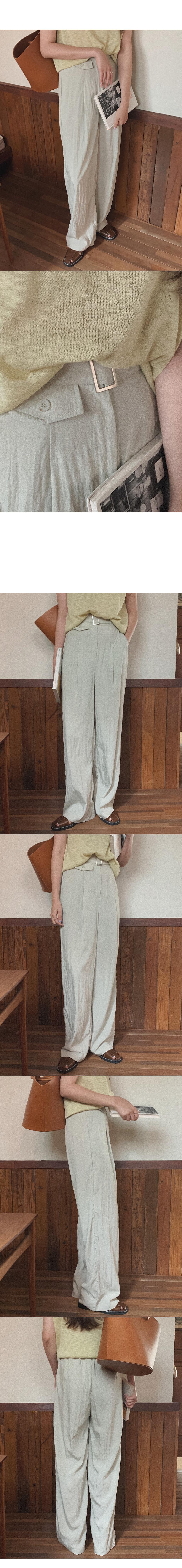 Bernie Pintuck Belt Pants