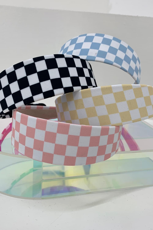Checkerboard Hair Band