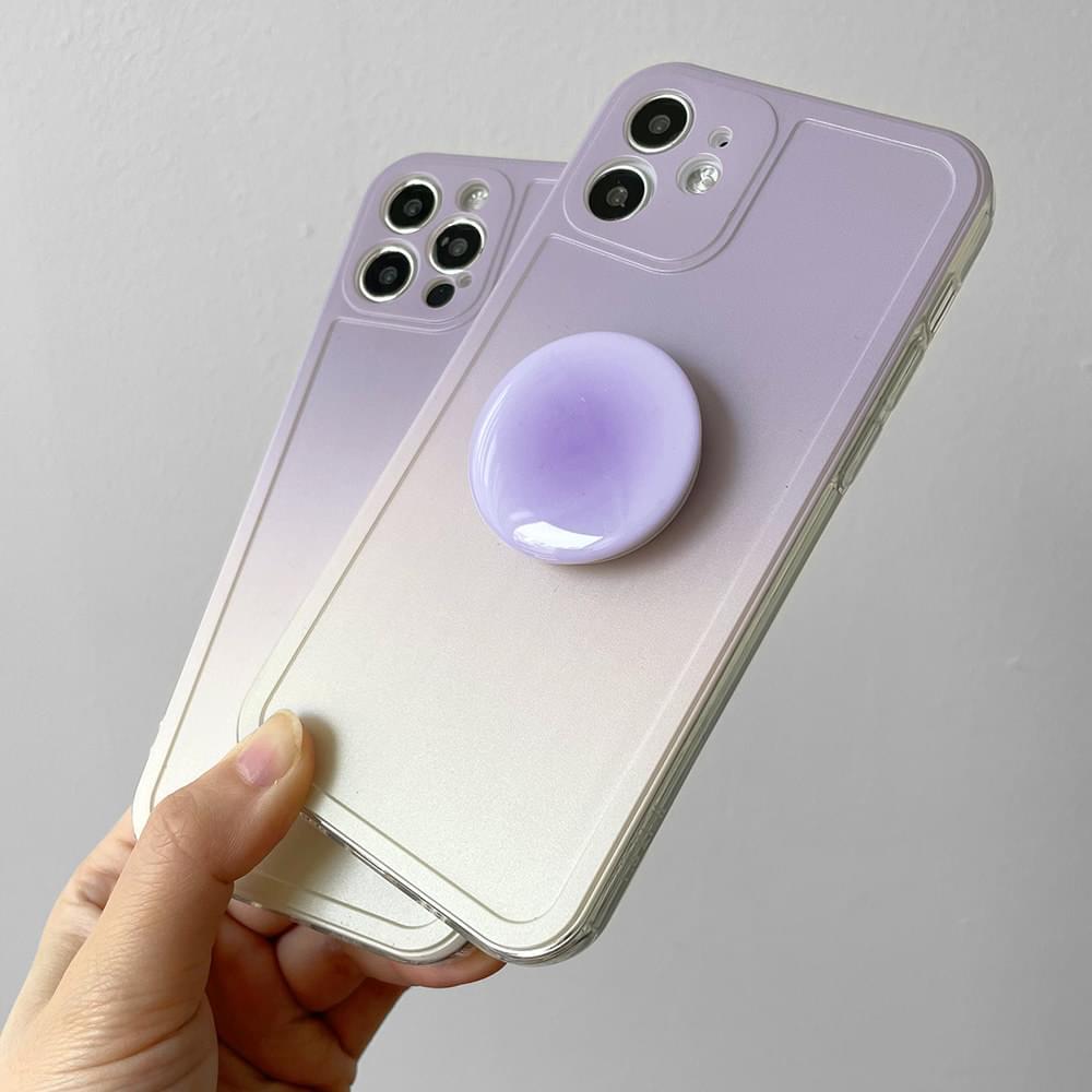 Unique Purple Gradient iPhone Case
