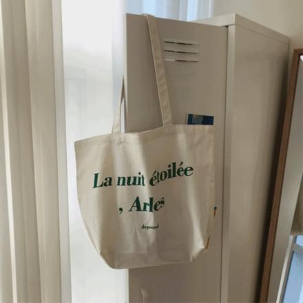 Green Letter Eco Bag