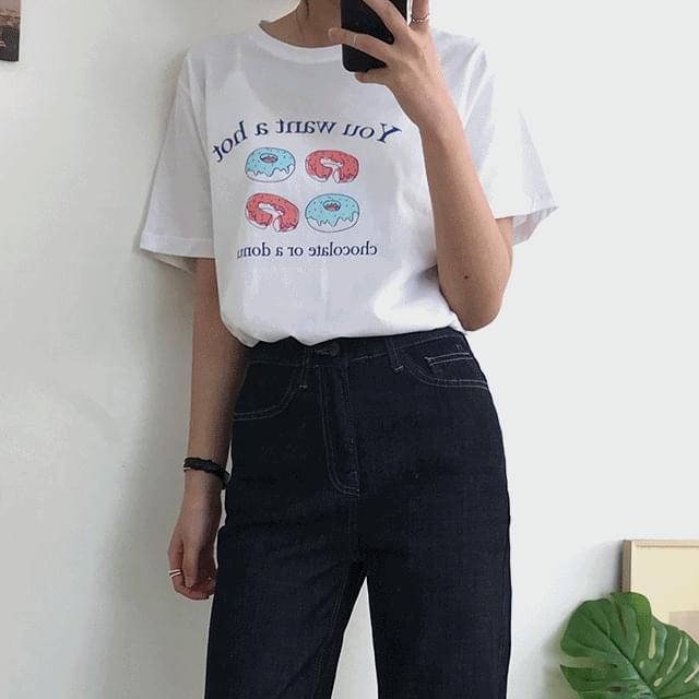 donut short sleeve t