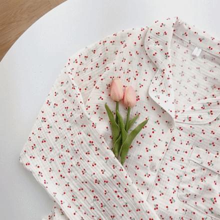 Cherry Pajamas Set