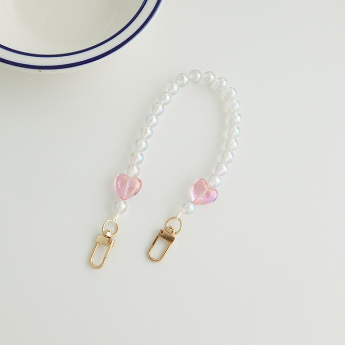 Cutie Heart Candy Color Cell Phone Strap