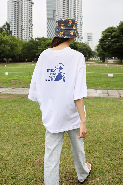 Ocean back graphic T-Shirt
