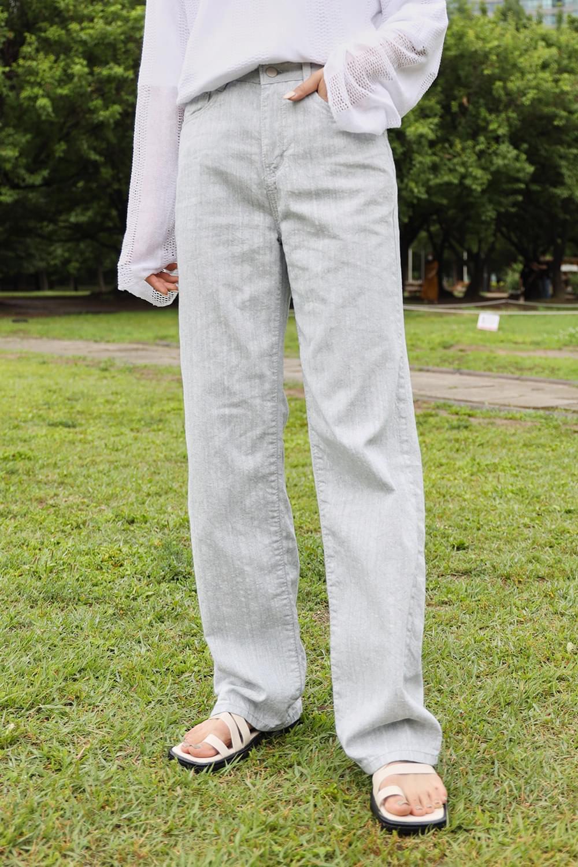 Backward jean Pants