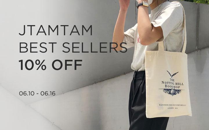 JTAMTAM BEST SELLERS 10% OFF