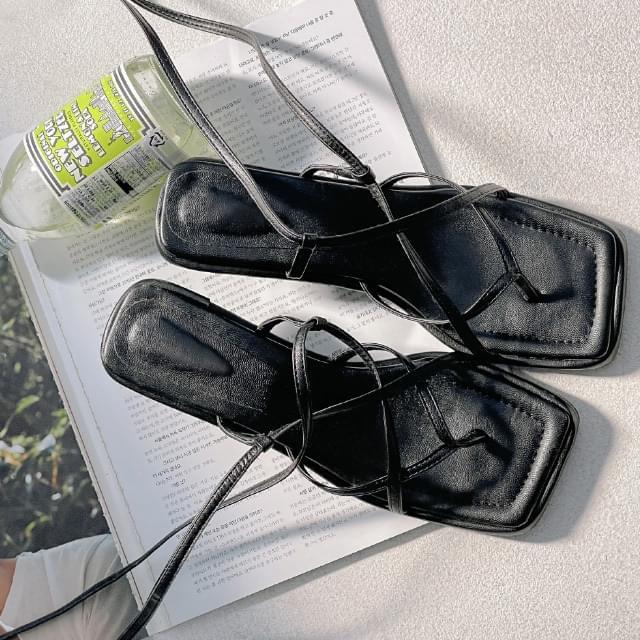 honey strap sandal heels 涼鞋