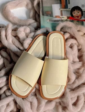 Byron color matching slippers