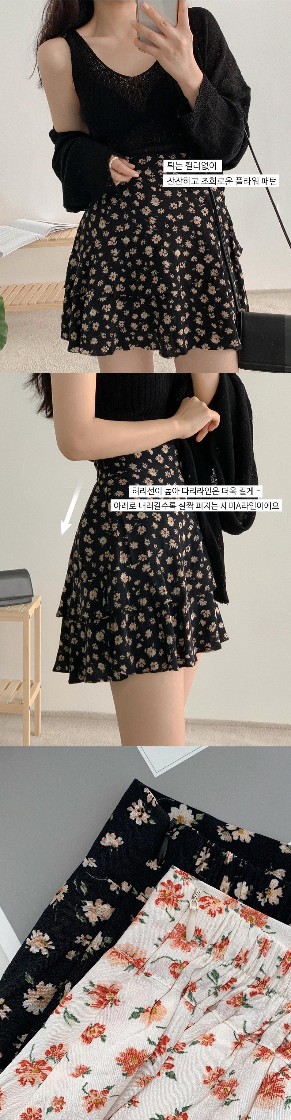 Shampoo Flow Banding Skirt