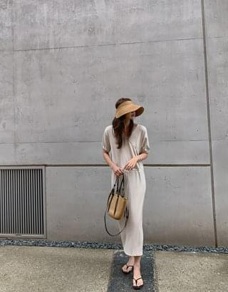 Two You Ribbed Wrap Dress
