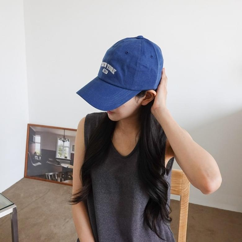 New York simple ball cap fashion hat 6colors