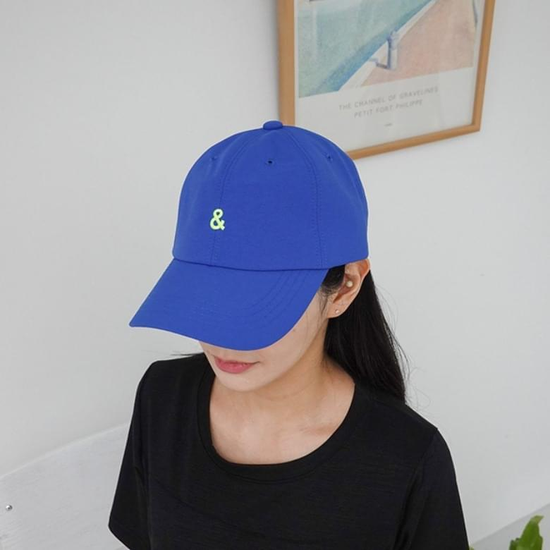 Summer candy-colour embroidered and ball cap