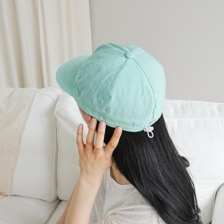 Soft color plain sports ball cap