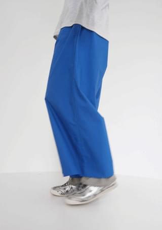 attractive wide banding pants