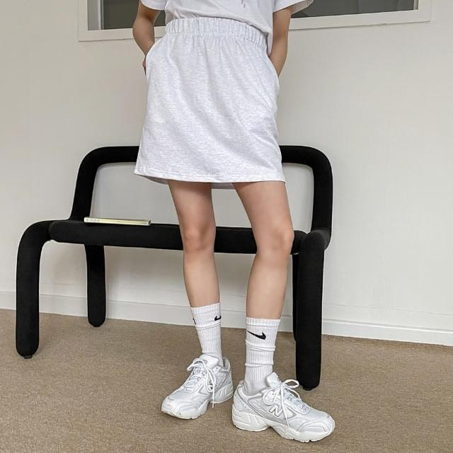 Bleever Training Banding Mini Skirt