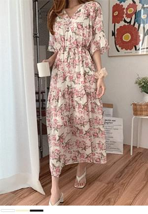 Heart-pounding flower Dress