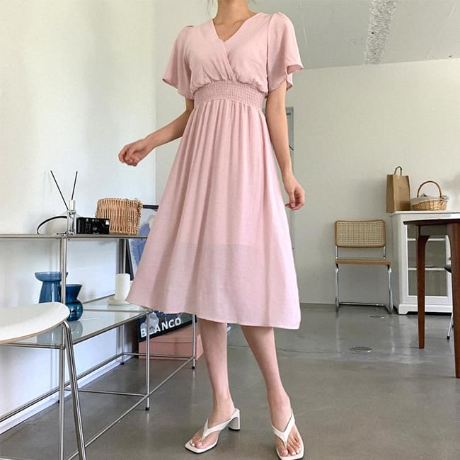 Goddess of Salang Smoke Long Dress