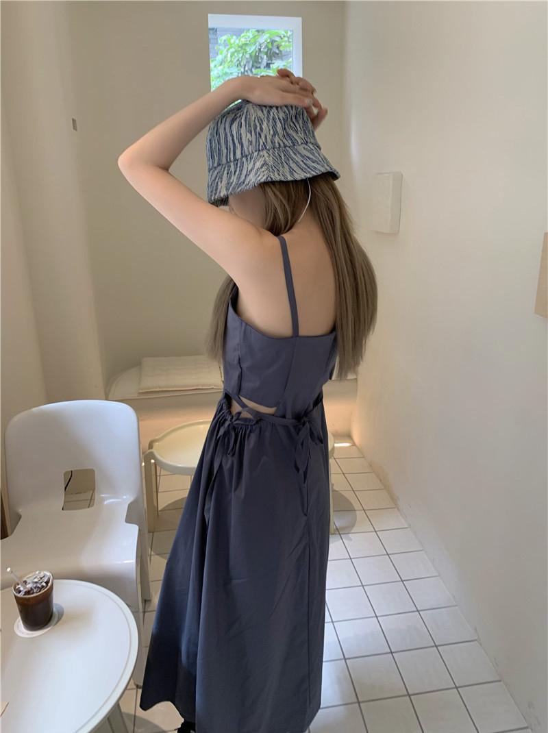 op4889 broa slit long Dress