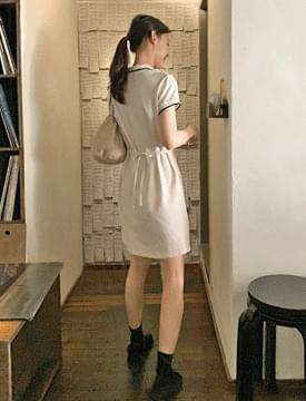 line pike mini Dress