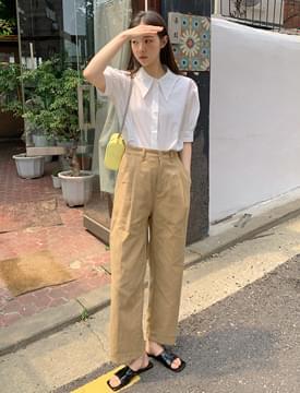 Stay Crop Linen Pants