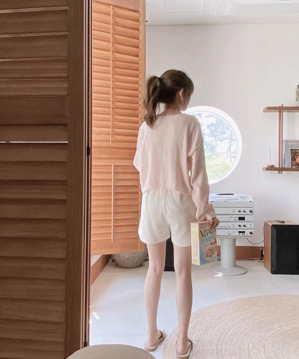 Tiny Yeori V-Neck Summer Knitwear