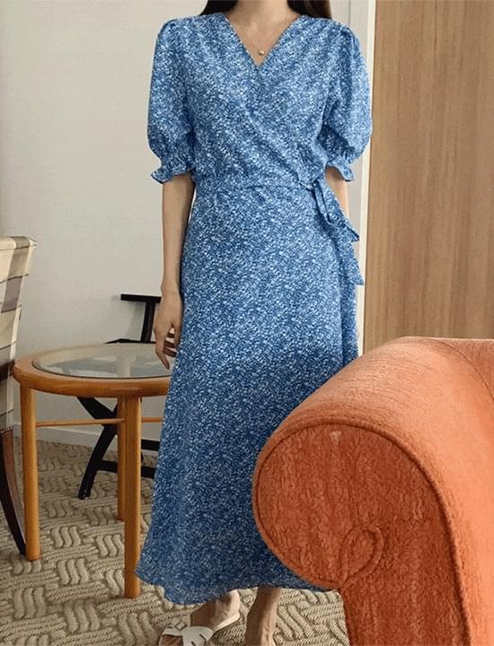 Maisonde Flower Wrap Dress