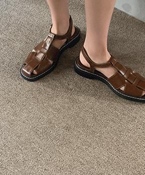 budro strap sandals
