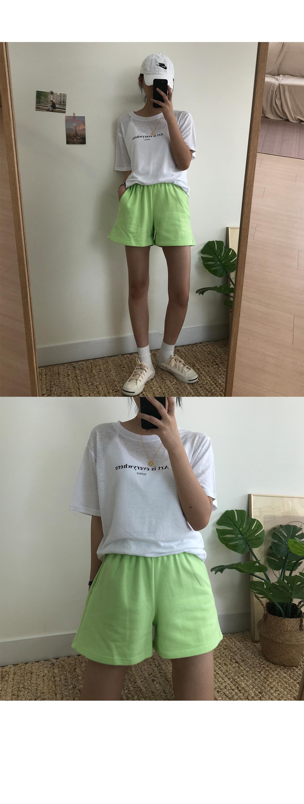 plain training shorts