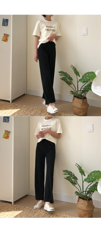 Life fit Ribbed pants