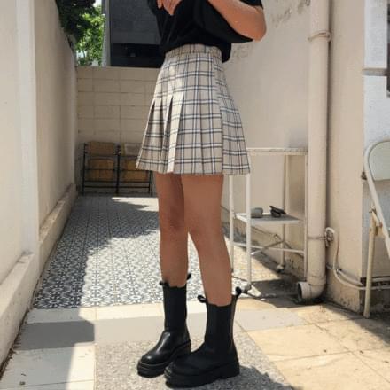 Rosie Check Tennis Skirt