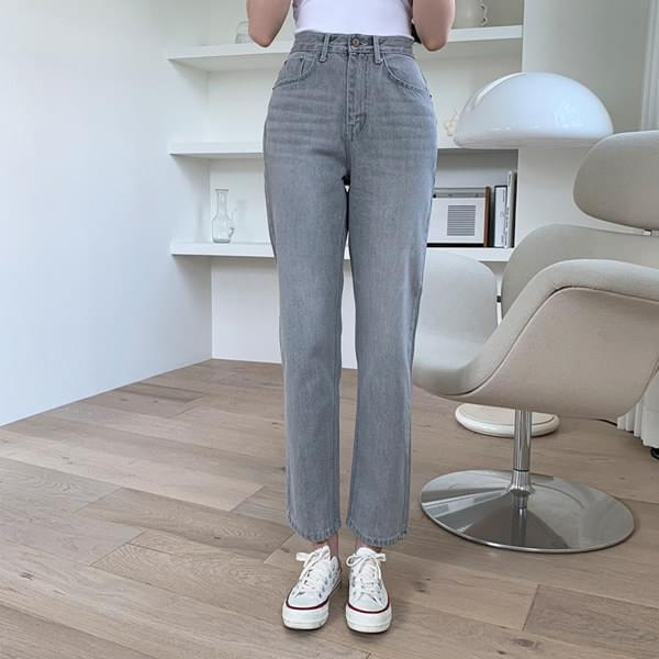 Renewal Gracie Faded Denim Straight Pants 牛仔褲