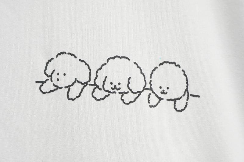 Puppy Friend Short Sleeve Tee