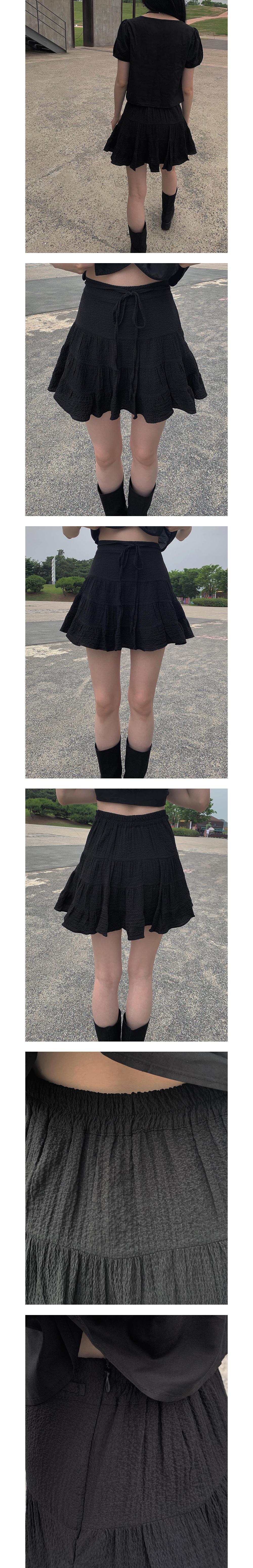 cancan strap skirt