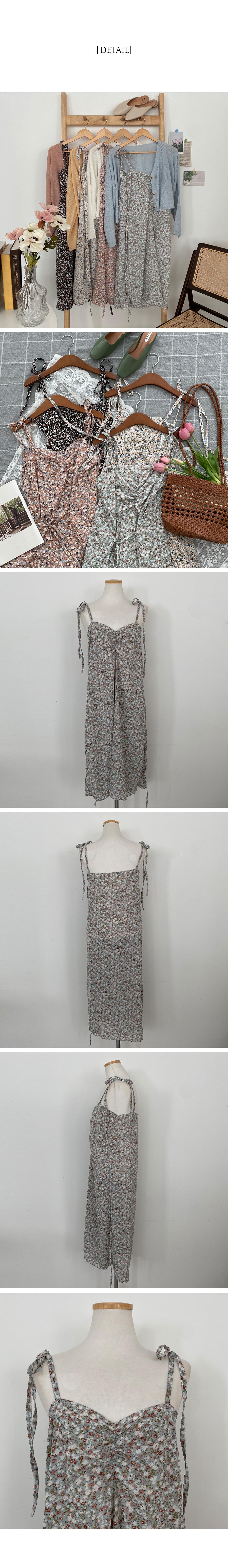 Ruby Flower Sleeveless Bustier Long Dress