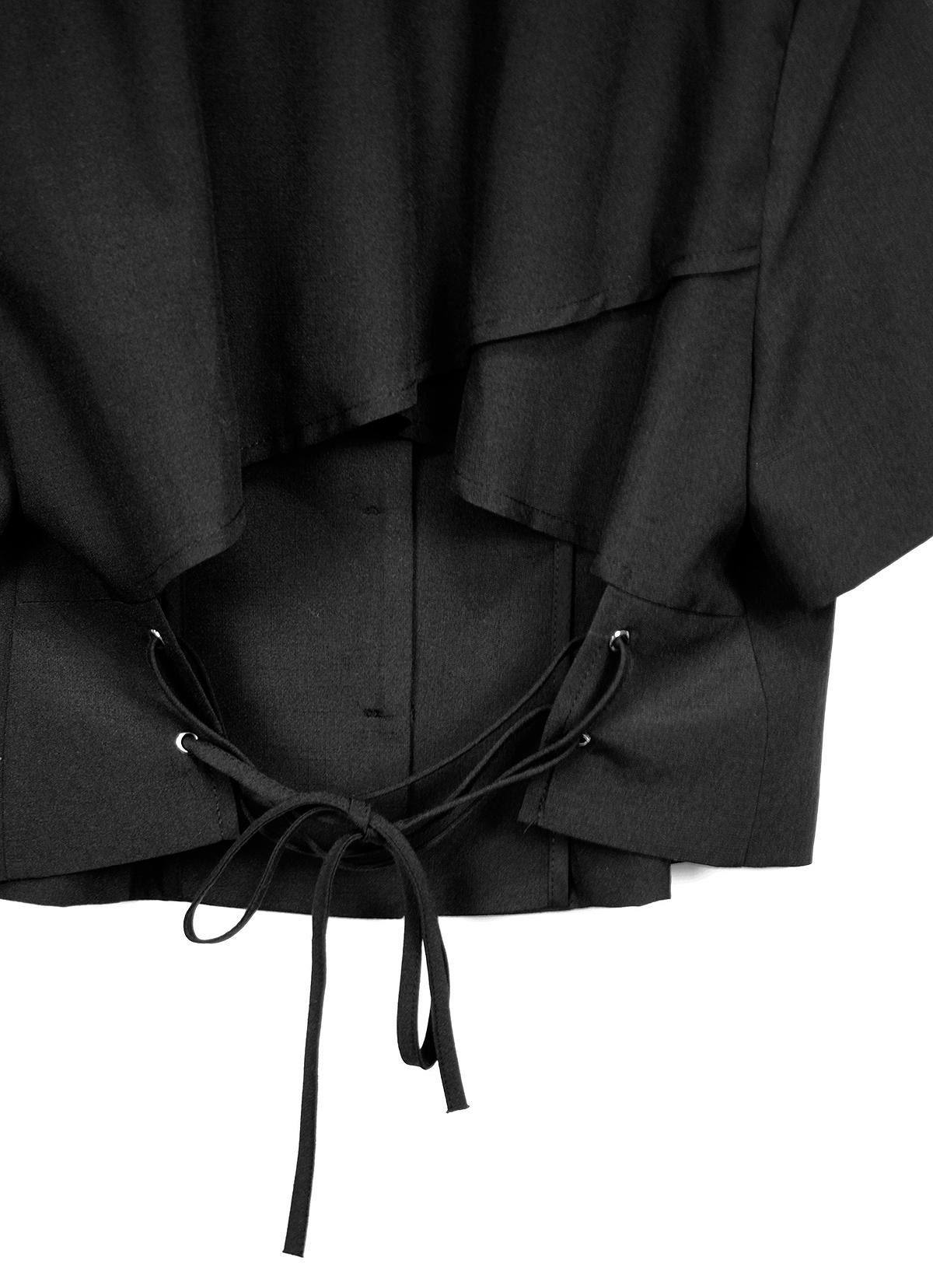 corset cropped jacket