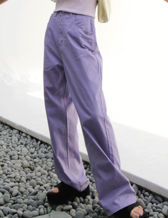 no.142 color wide pants