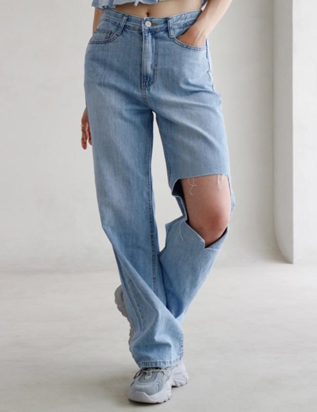 no.1631 Light Blue Square Pants