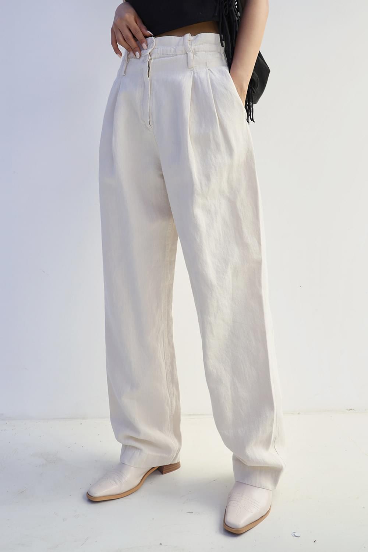 Wide maxi linen Pants