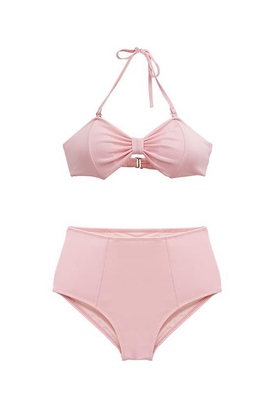 ribbon top bikini