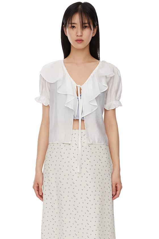 wings string blouse