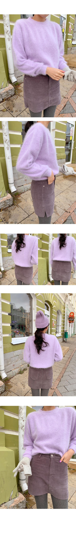 Paper Corduroy Pants Skirt