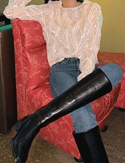 stylish long boots