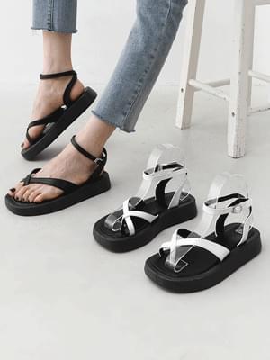 toe post lay heel sandals 11014
