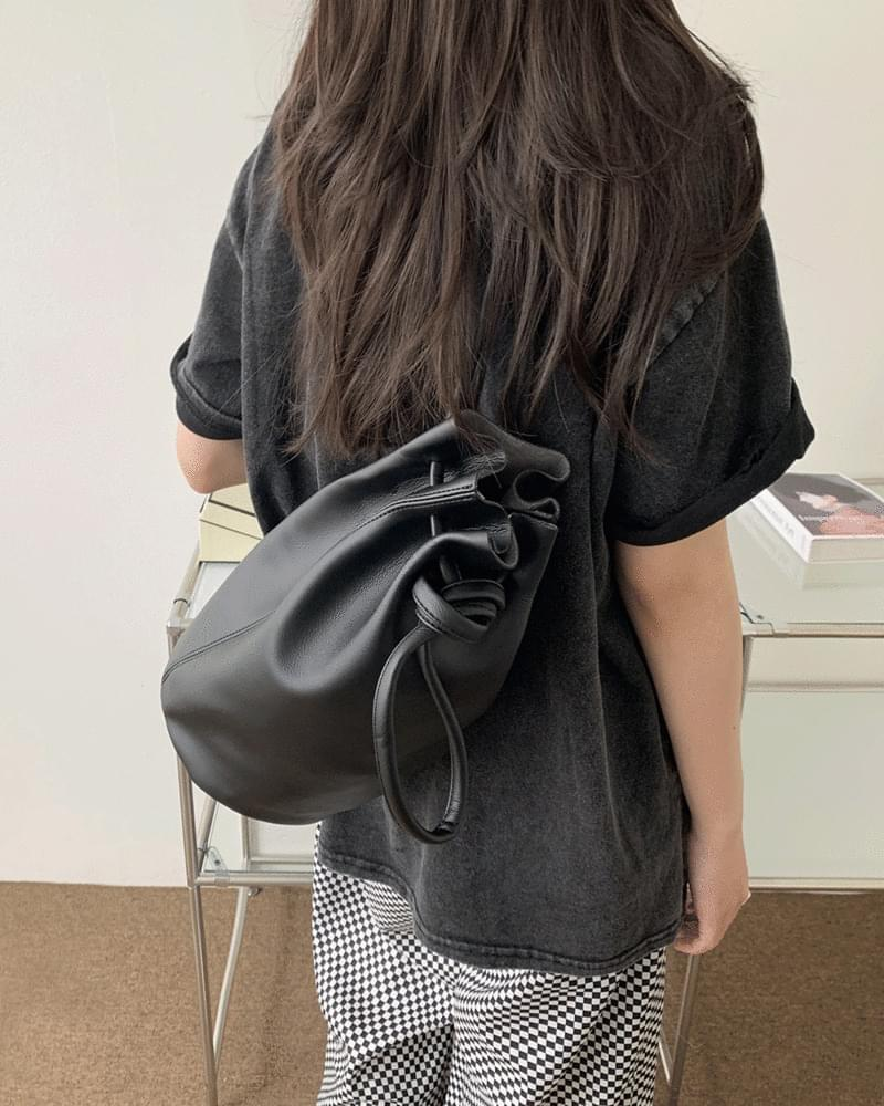 Lespon bottle knotted leather cross-body bag (Delayed delivery)