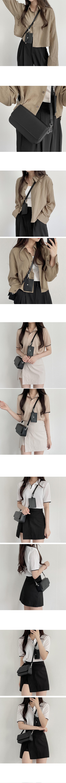 Card Wallet Square Cross & Shoulder Bag