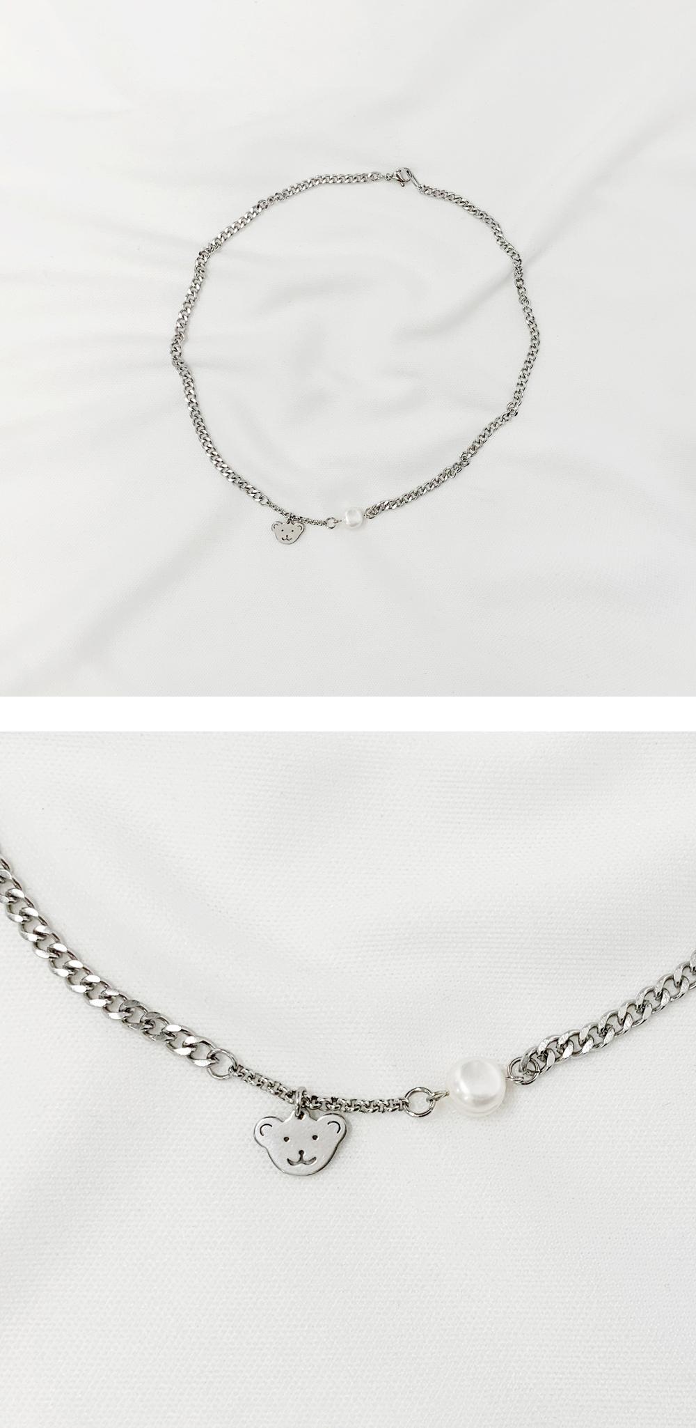 Ahri Bear Chain Necklace