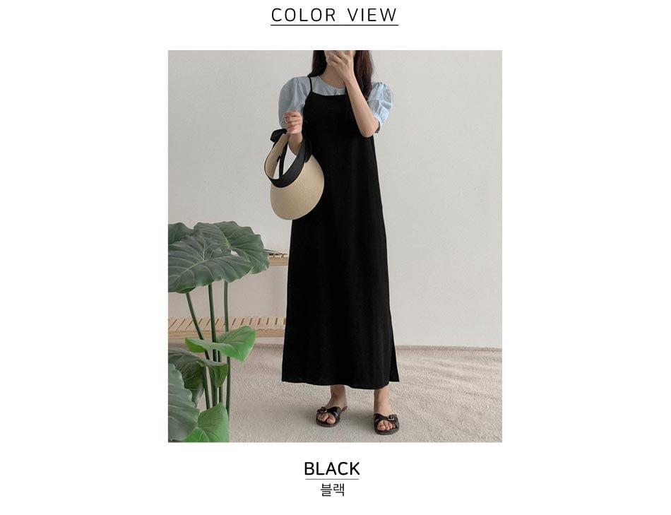 Uldi Linen Bustier Dress