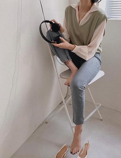 韓國空運 - premium twist blouse 襯衫