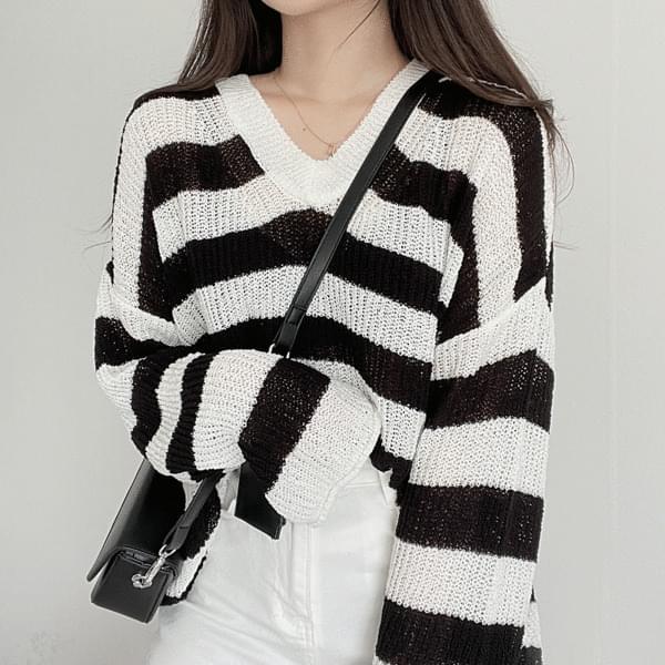 Groove Striped Knitwear